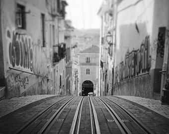 Lisbon Photography, Portugal Art, Lisbon Print, Black and White, Urban Photography, Perfect Gift, Fine Art Photography, Wall Art, Home Decor