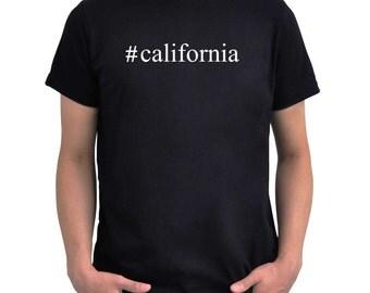 Hashtag California  T-Shirt