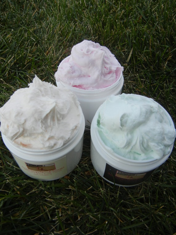 Whipped Cream Body Wash/Soap: 3 Jar Set Choose by ...