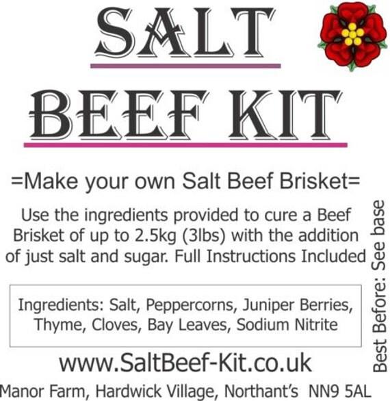 how to cook salt beef brisket