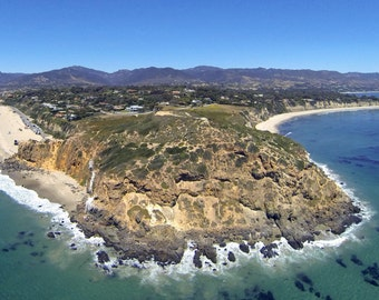Aerial Photograph of Point Dume, Malibu, California