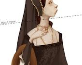 Anne Boleyn -- 8x10 Art Print