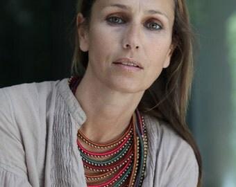 Multi Masai necklace