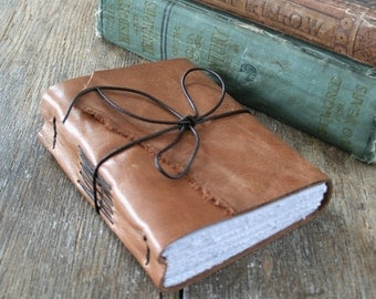 RESERVED for Emma - Sylvia Plath Leather Journal