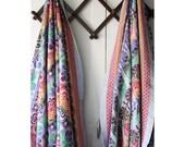 vintage woven cotton india blanket