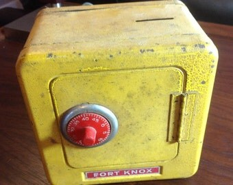 Fort Knox Vintage Toy Bank