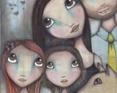 Custom Illustration Slot #2 - 11x14 Original Art