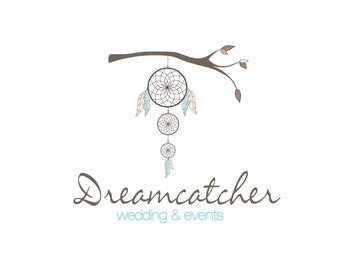 Logo Design, Custom Logo, Custom Logo Design, Business Logo, Event Planner Logo, Dreamcatcher Logo