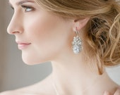 Wedding Earrings, Bridal Earrings , Vintage Wedding Earrings , Crystal Earrings , Bridal Statement Earrings, bridal Jewelry