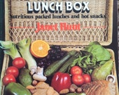 1983 The WHOLEFOOD LUNCH BOX by Janet Hunt Book