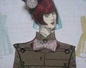 Menagerie Paper Doll - Steampunk Ariel