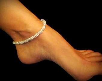 Anklet - Handcrafted Byzantine Chain Anklet