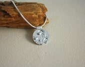 Patterns necklace - Sterling Silver