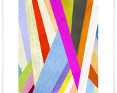 Diagonal Abstract Art Print