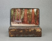 Belt Buckle Cabin in the Forest Wilderness Gift for Men or Women