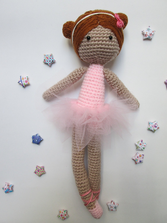 Amigurumi Ballerina Doll : Anita Ballerina Doll Tutorial // Amigurumi Doll Tutorial
