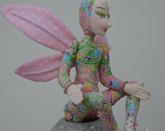 Fairy Art Doll, OOAK, Summer