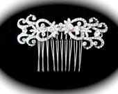 Bridal hair comb ~ Rhinestone hair accessories ~ Crystal hair comb ~ Wedding hair piece ~ Statement hair piece ~ Crystal hair comb ~ ALEXIS