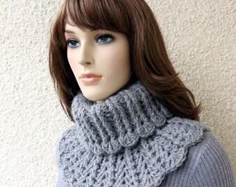 Crochet Neck Warmer PATTERN-Chunky Crochet Scarf-Easy DIY Crafts-Gift For Her-Instant Download PDF Digital Pattern No.155 by Lyubava Crochet