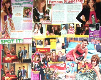 BELLA THORNE ~ Shake It Up, Famous In Love, Frienemies, My Own Worse Enemy, CeCe Jones ~ Color Artices, Pin-Ups for Scrapbooking