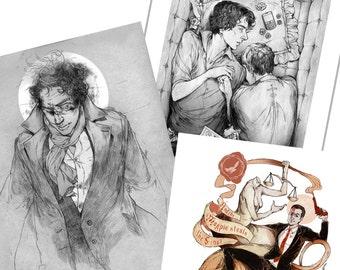 Shy's Sherlock Prints