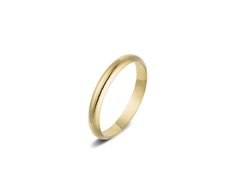 Mens wedding band gold wedding ring simple wedding ring