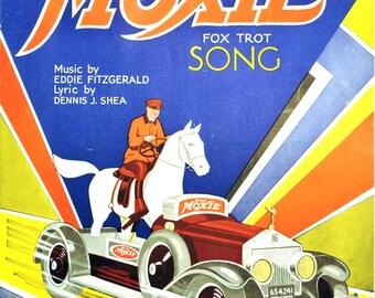 Moxie Horsemobile Sheet Music for Framing Vintage Nerve Tonic