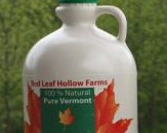 Quart Jug - 32 oz - Pure Vermont Maple Syrup