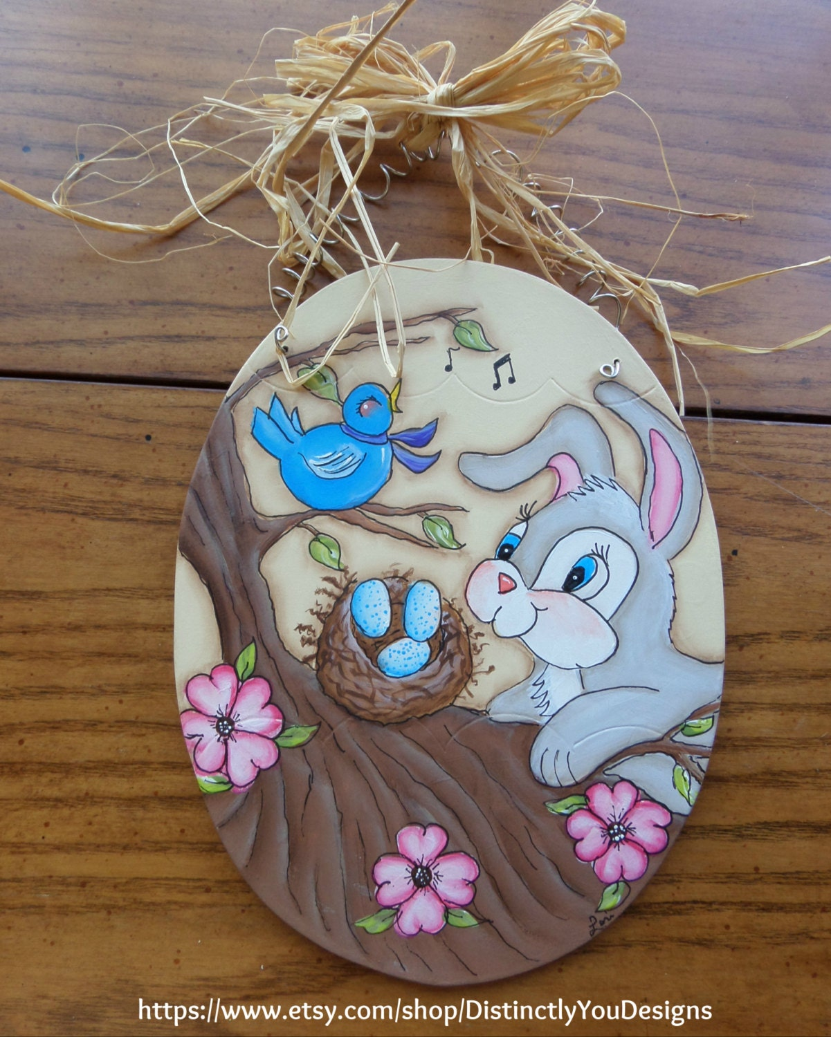 Spring home decor easter bunny spring decorations easter for Rabbit decorations home