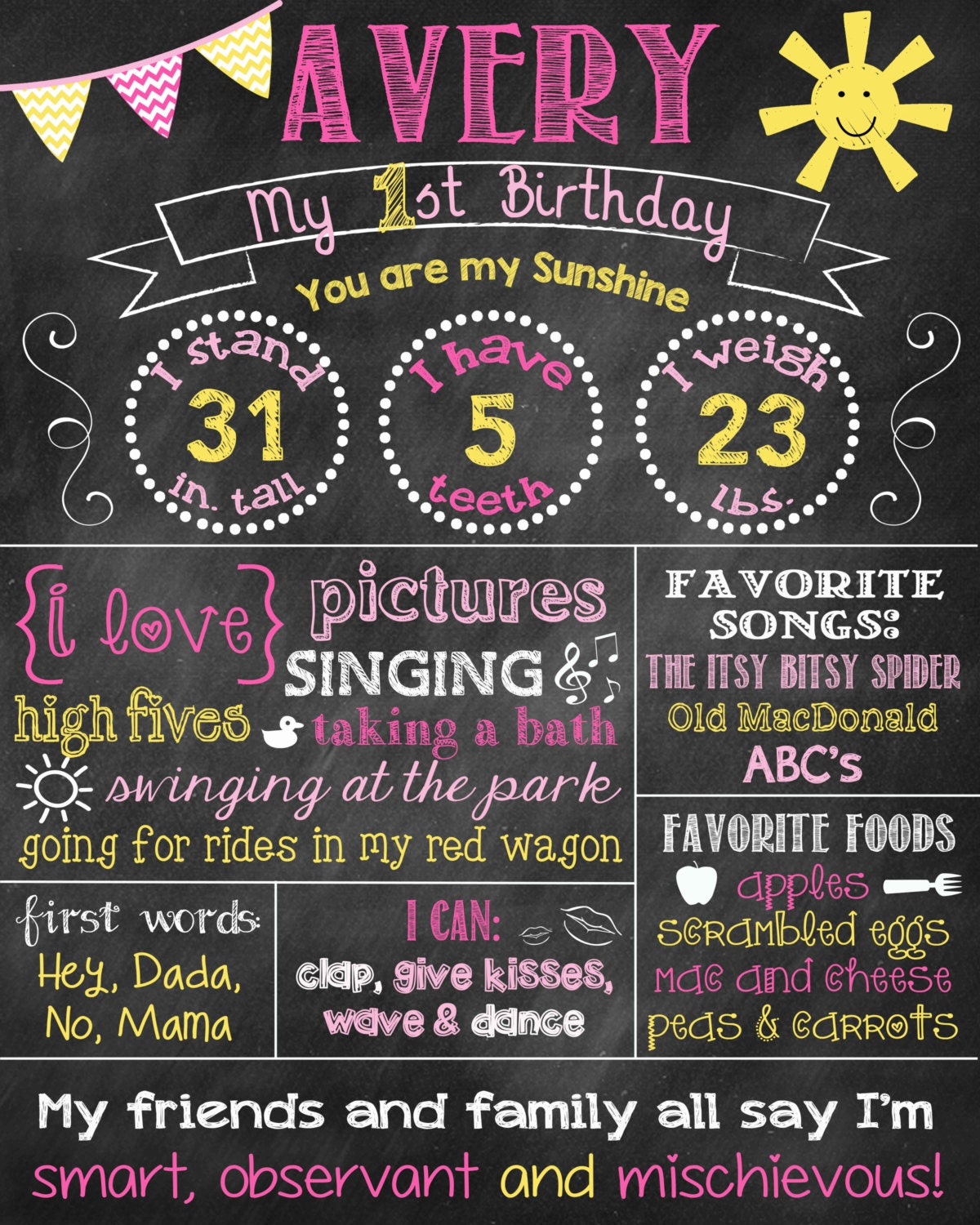 Sunshine First Birthday Chalkboard First Birthday Poster You. Free Printable Yard Sale Signs. Pocket Calendar Template 2016. Us Passport Photo Template. Credit Repair Website Template. Easy Admin Support Cover Letter. Free Envelope Printing Template. Truck Wrap Design Template. Yard Sale Pics