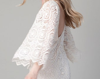 Bohemian French Lace Darling Dress