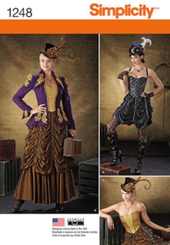 Items Similar To Steampunk Dress Steampunk Corset New