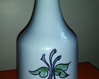 Louisville Stoneware Cherry Pattern Carafe Rare Find