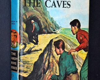 The Secret of the Caves, Hardy Boys, Vintage Children's Book, 1964