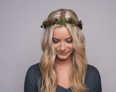 Winter Flower Crown \ Christmas Crown \ Snow \ Christmas \ Flower Crown \ Christmas Headpiece \ Winter Headpiece, Snow crown, Snow flower