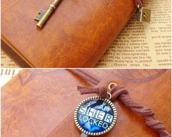 Sherlock blank notebook , 221B notebook , Baker Street Team diary , Travel Journal Notebook , Journal book , Diary, gift for Sherlock fans