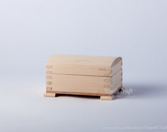 Unfinished wood box DIY wooden box diy wood crafts DIY home decor DIY wedding natural wood box wood box diy box diy crafts keepsake wood box