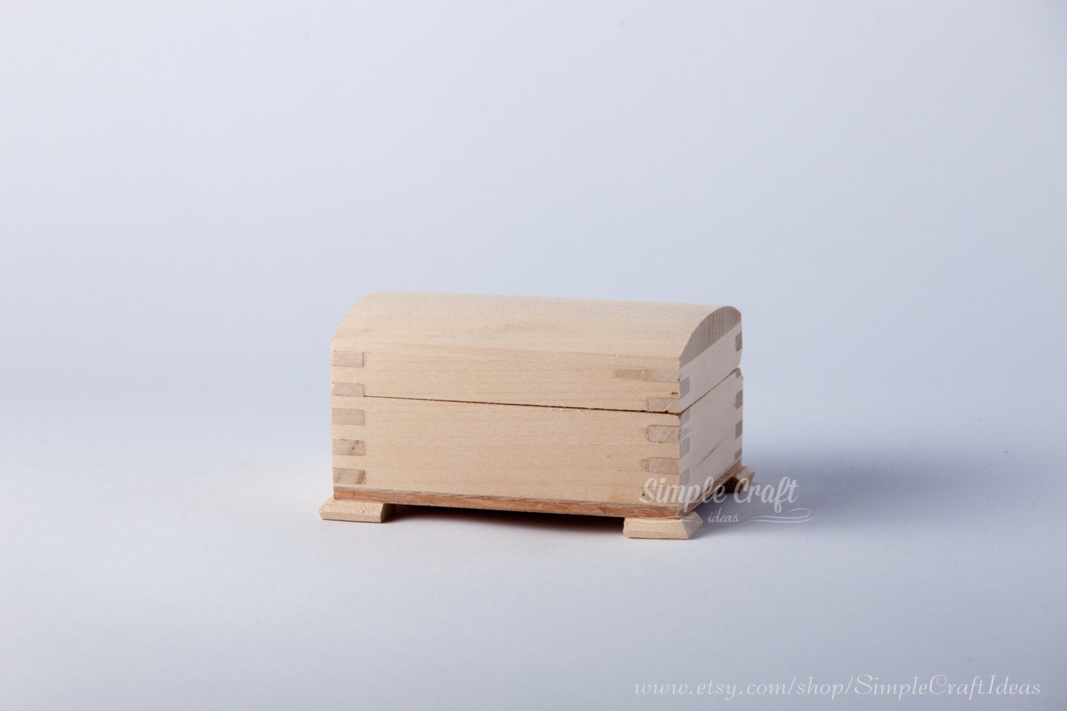 Unfinished wood craft boxes -  12 99