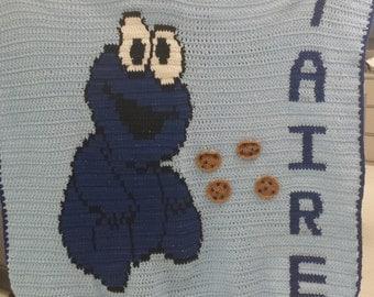 Cookie Monster Blanket