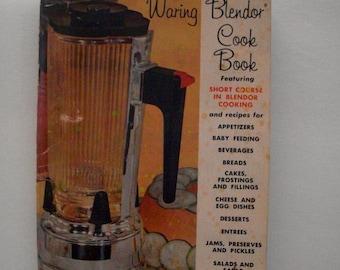 Waring Blender Cook Book Vintage 1962 Some Wear And Aging