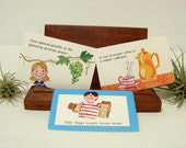 Food Tongue Twisters 3 Flash Cards Kitchen 1970 Highlights
