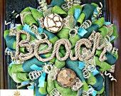 Whimsical Beach Wreath