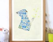 "A5 A4 A3 Artprint ""Mago"" Izumi (Kinu serie) (limited edition)"