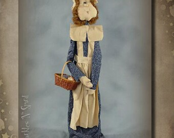 "Pattern: Prudence - 28"" Pilgrim Lady"