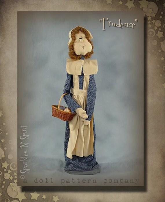 "Pattern: Prudence - 28"" Pilgrim Lady"
