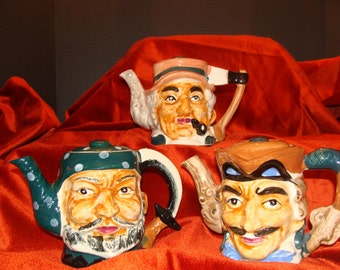 3 Pirates of the Carribean Teapots from Stafford in Japan