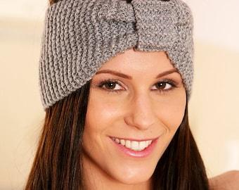 Winter Knit Headband, Knit Ear Warmer, Winter Headband, Turban Headband, Knitted Head Wrap, Knitted Ear Warmer, Knitted Headband TheKnitNut