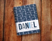 Baby Book - Personalized Baby Book - Baby Memory Book - Modern Baby Book - Boy - Girl - Tribal - Arrows - Navy Blue