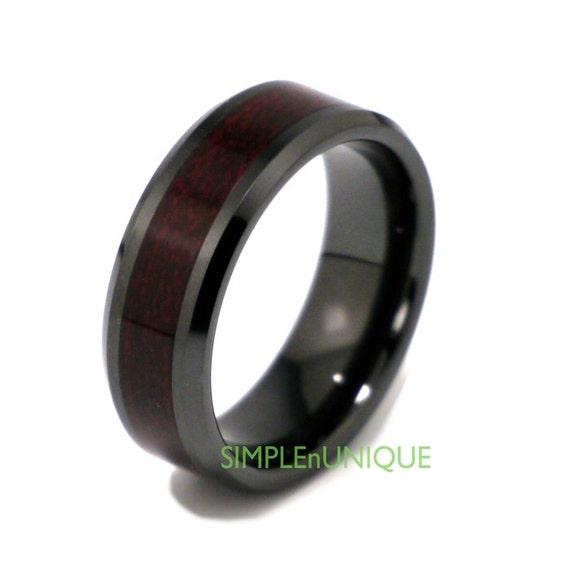 Ceramic ring mens wedding band mens ring promise rings for Ceramic mens wedding rings