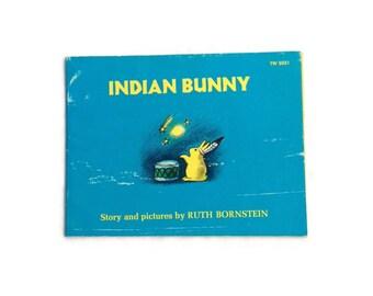 Indian Bunny by Ruth Bornstein, 1974